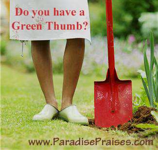 Do you have a Green Thumb?