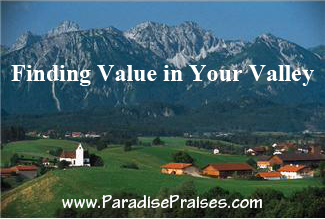 value in the valley www.paradisepraises.com