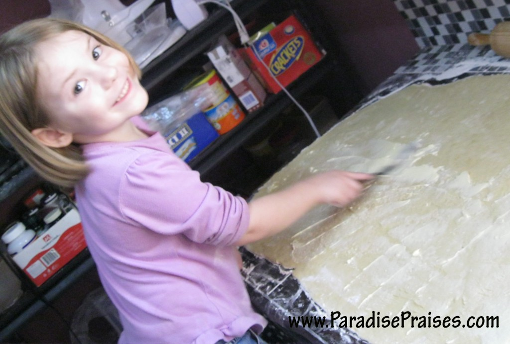 baking Kids Doing Ministry www.ParadisePraises.com
