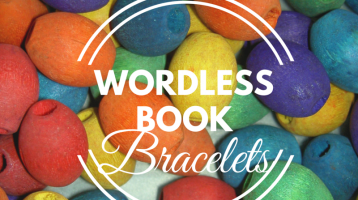 Wordless Book Bracelets (with Free Printable)