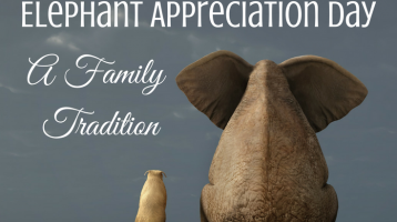 Family Traditions: Elephant Appreciation Day