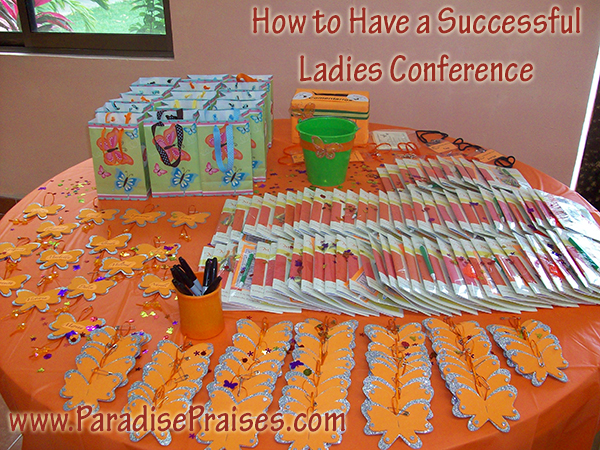 Planning a Successful Ladies Event, Part 1