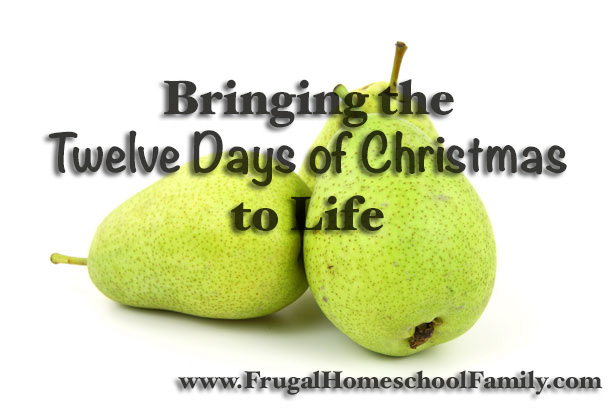 Twelve Days of Christmas www.FrugalHomeschoolFamily.com