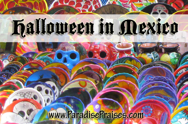 Halloween and the Day of the Dead Mexican Holiday