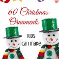 65 Christmas Ornaments Kids can Make via ParadisePraises.com