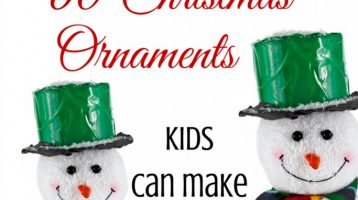60 Christmas Ornaments Kids Can Make