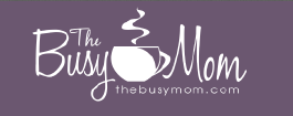 The Busy Mom button