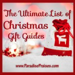 The Ultimate List of Christmas Gift Guides www.ParadisePraises.com