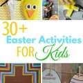 Over 30 Easter activities for kids including Christ centered resurrection crafts and activities. ParadisePraises.com