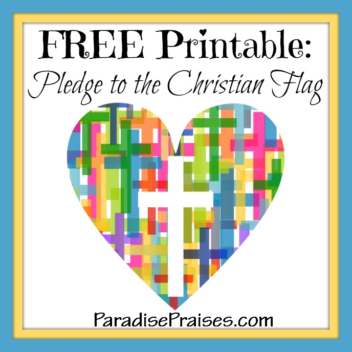 Pledge to the Christian Flag