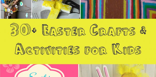 30+ Easter Activities for Kids www.ParadisePraises.com