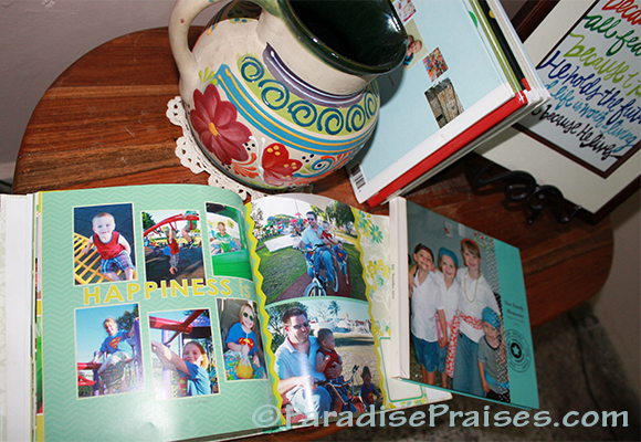 View our family scrapbooks on ParadisePraises.com
