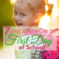 7 activities to make the first day of school memorable (with a free printable too!) via ParadisePraises.com
