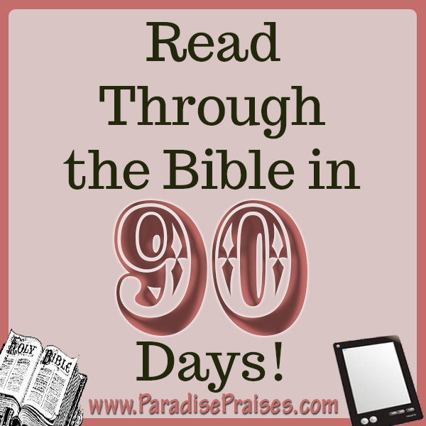 90 Day Bible Reading Plan