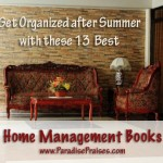 home management home making books ParadisePraises.com