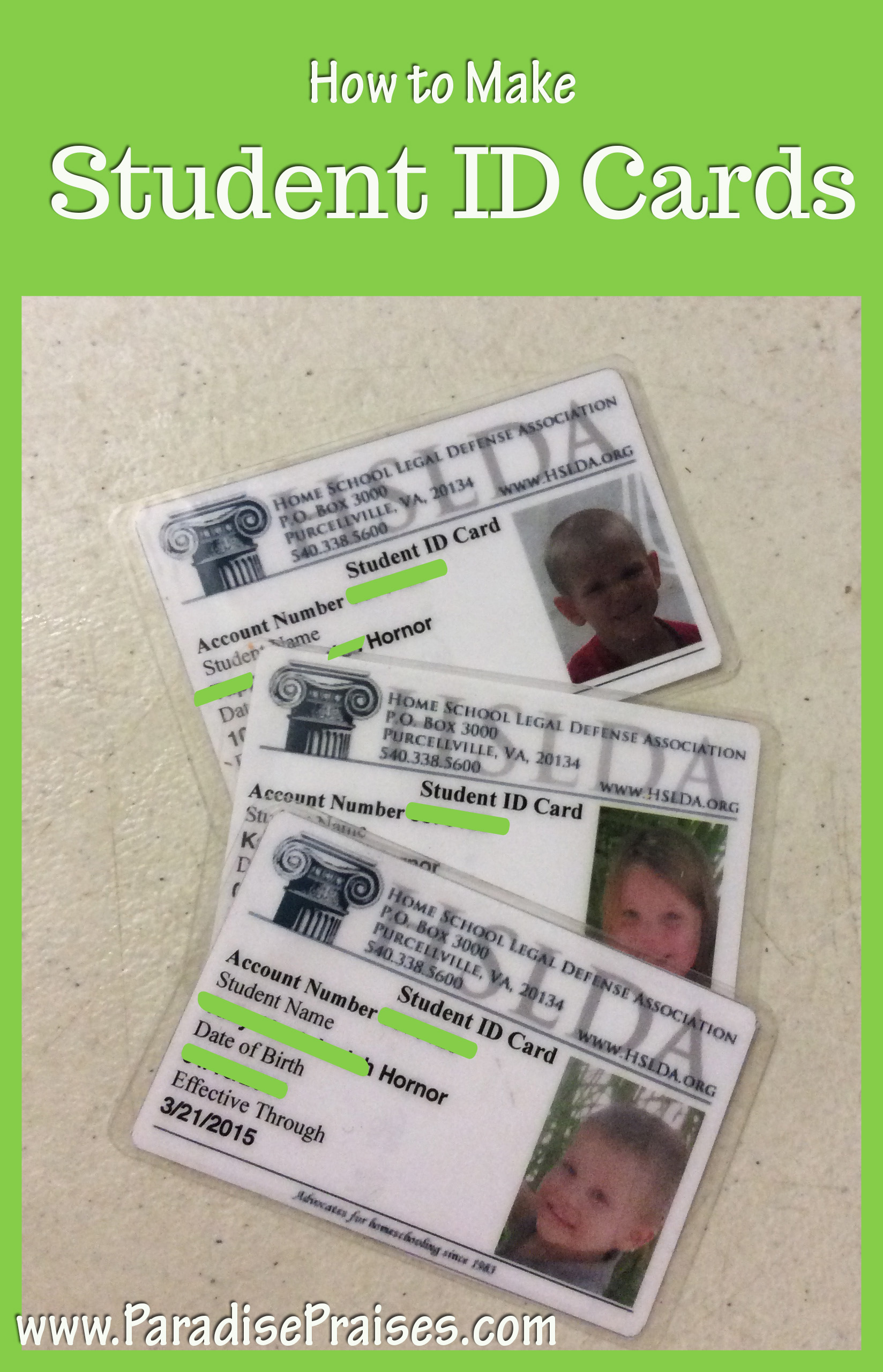 How to make student id cards - photo#17