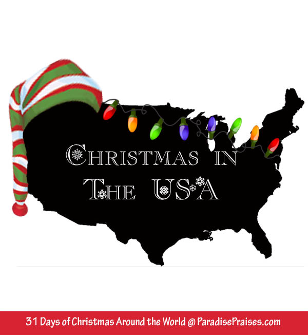 Christmas in the USA and electric Christmas Lights