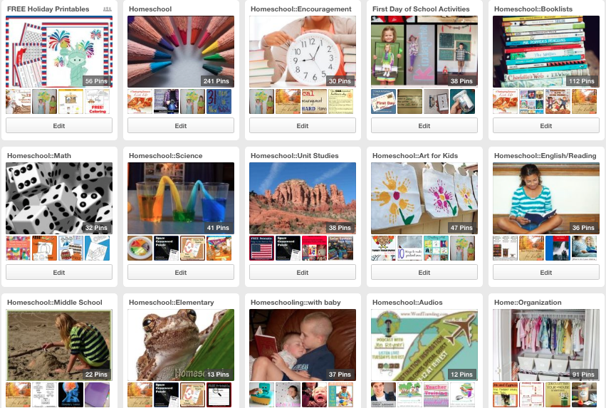 Homeschool boards on Pinterest by Paradise Praises