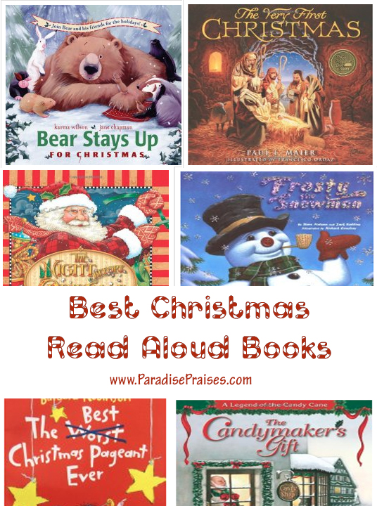 Best Christmas Read Aloud Books (link up) home and homeschool ParadisePraises.com