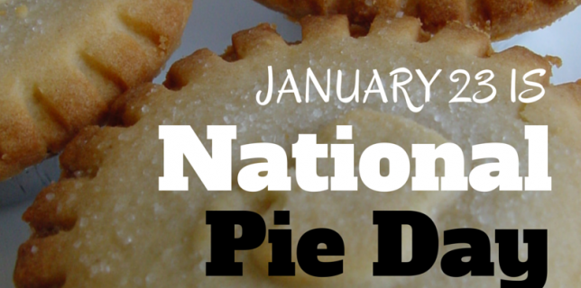 Celebrate National Pie Day, January 23, with these 50+ Pies @ParadisePraises