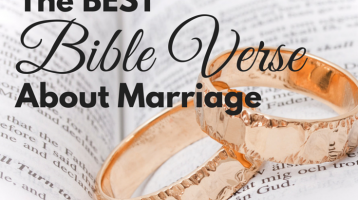 The Best Bible Verse About Marriage