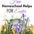 Teach your children the true meaning of Easter with these Christ centered free homeschool activities. ParadisePraises.com