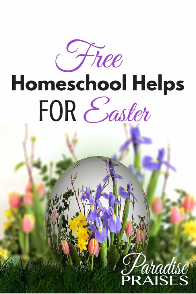 Teach your children the true meaning of Easter with these Christ centered free homeschool Easter activities. ParadisePraises.com