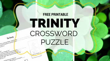 Free Printable Trinity Crossword Puzzle