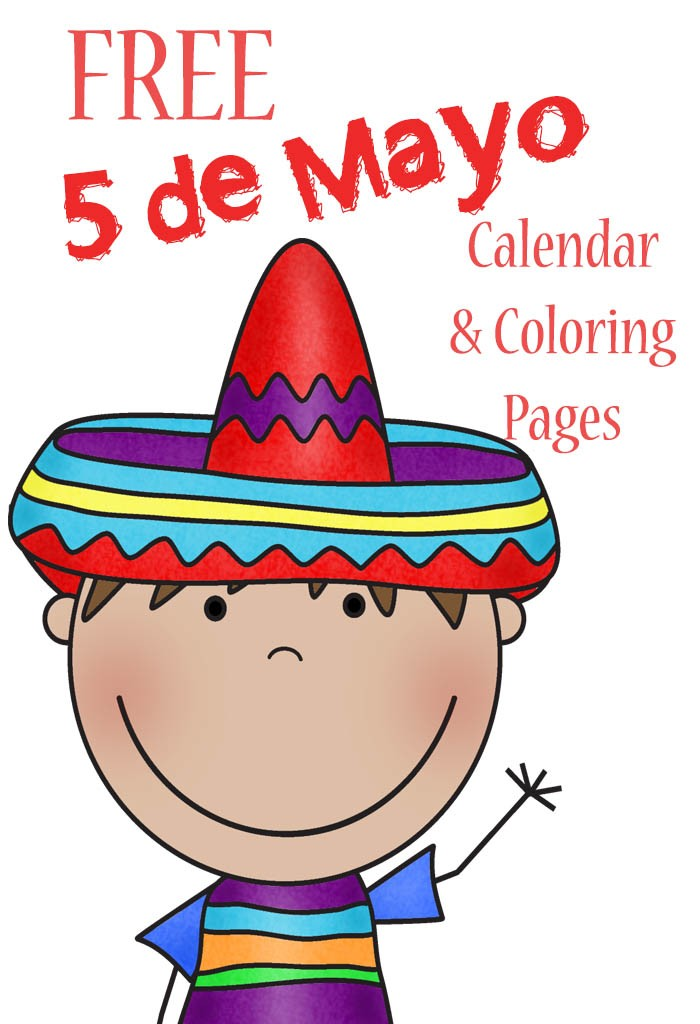 free 5 de mayo coloring pages