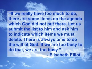 Quote from Elisabeth Elliot