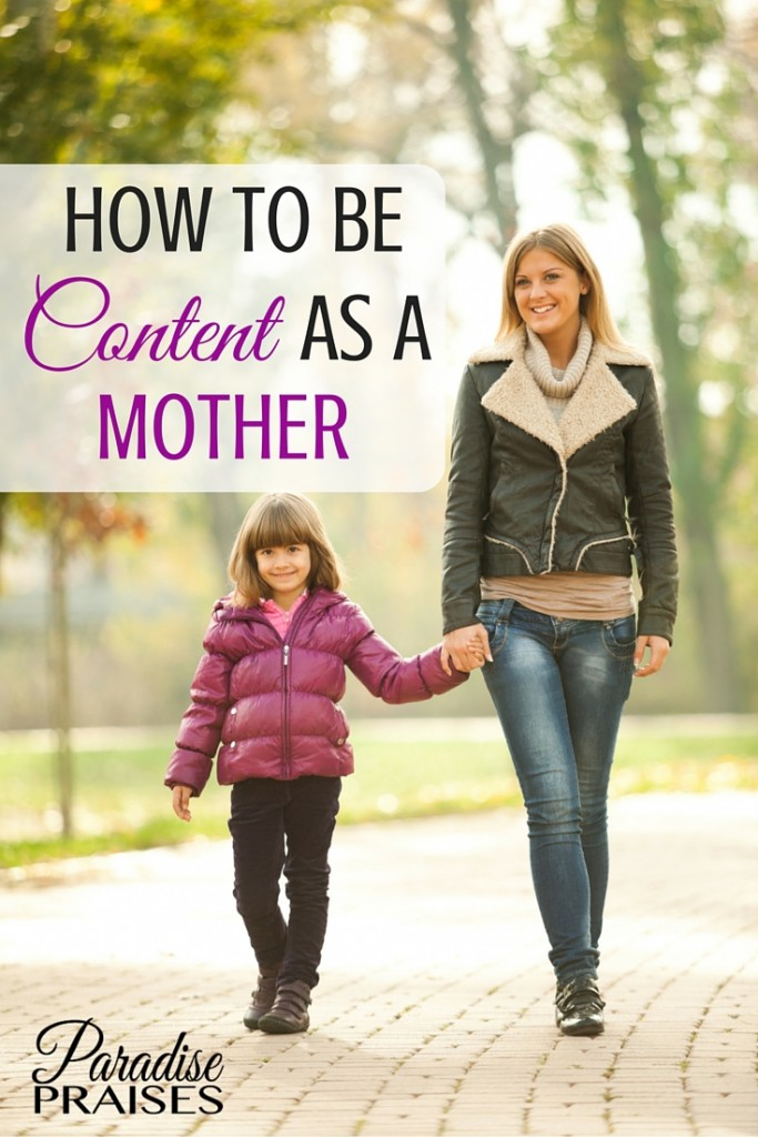 In part 2 of the series, learn how to be content as a mother and joyful in your motherhood journey.  Enjoy more Christian motherhood encouragement from ParadisePraises.com