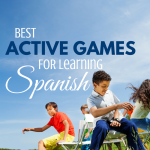 Best Active Games for Learning Spanish via paradisepraises.com