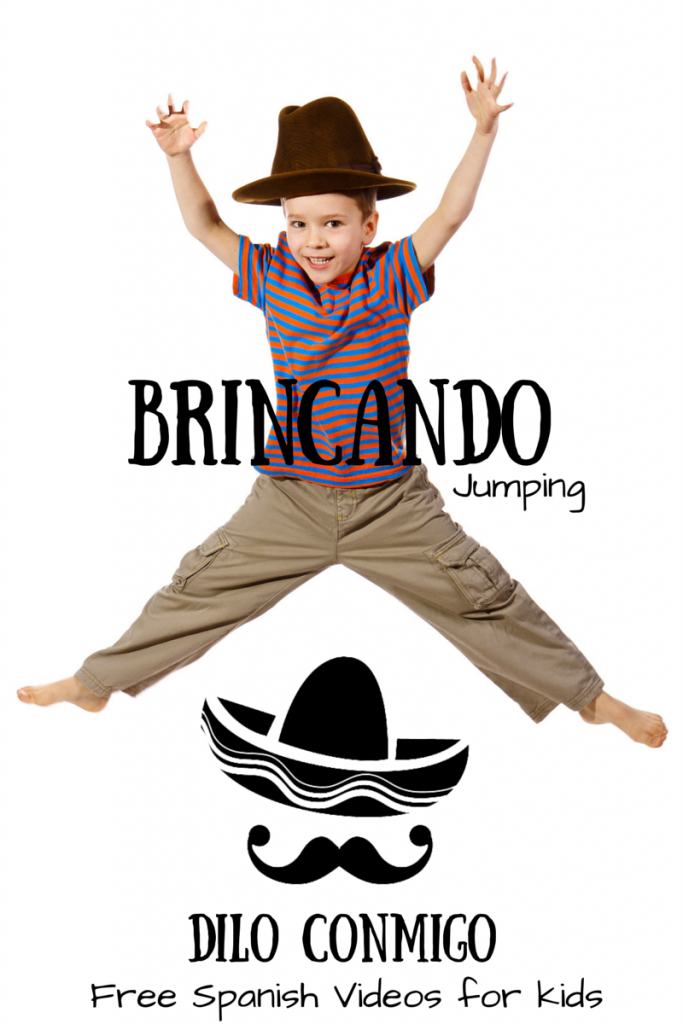 Brincando: Jumping (in Spanish) Free videos for learning Spanish at ParadisePraises.com