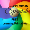 Colors in Spanish: Free Learning Printables from ParadisePraises.com