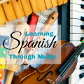 Learning Spanish Through Music via ComoBlog.com