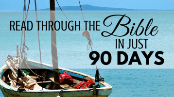Read through the Bible in 90 Days (Free Printable)