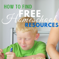 How to Find Free Homeschool Resources, websites, fb groups and more! via ParadisePraises.com