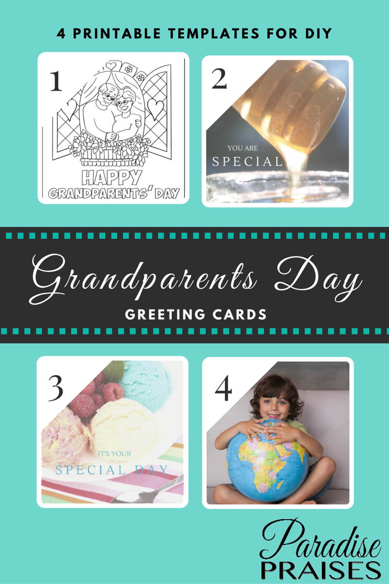Free Grandparent's Day Printable Cards