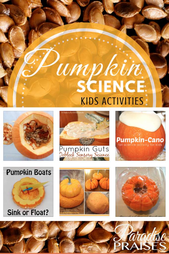 pumpkin science kids activities @ParadisePraises.com