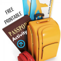 Free Printable Passport Activity via Paradise Praises.com