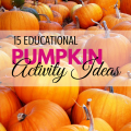 15 Educational Pumpkin Activity Ideas via ParadisePraises.com