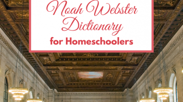 FREE Noah Webster Dictionary for Homeschoolers via Paradisepraises.com