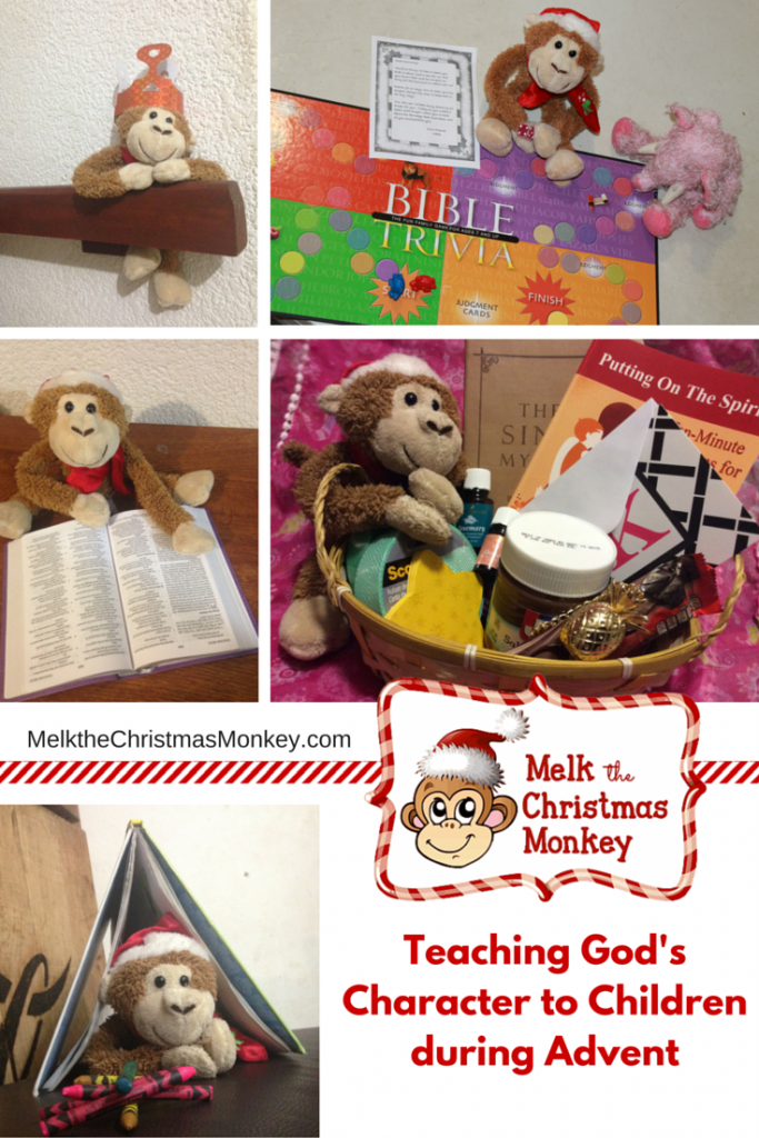 Need ideas for posing your Melk the Christmas Monkey? via paradisepraises.com
