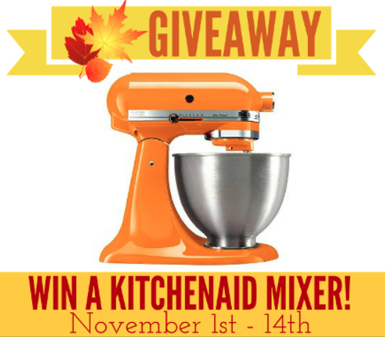 win a kitchen aid mixer