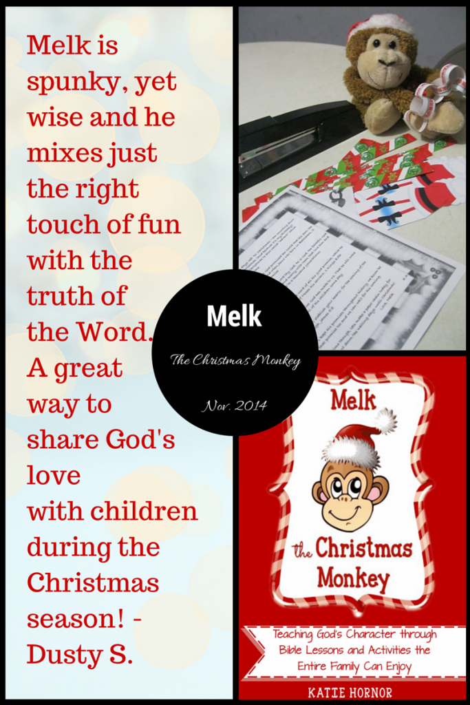 Melk is Spunky and Wise, let him teach your children lasting lessons this year.