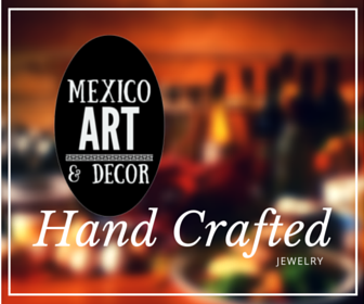 hand crafted jewelry from Mexico www.MexicoArtDecor.com