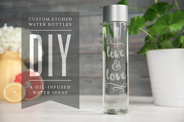 DIY Personalized water bottle