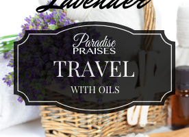 Travel with Oils: Lavender