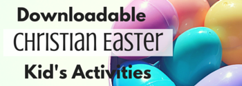 easter kid's activities downloadable for resurrection day