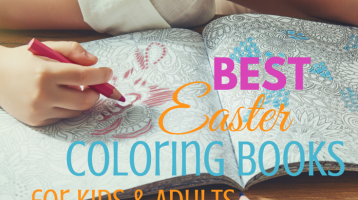 13 Best Easter Coloring Books for Kids and Adults (Plus Free Printable)